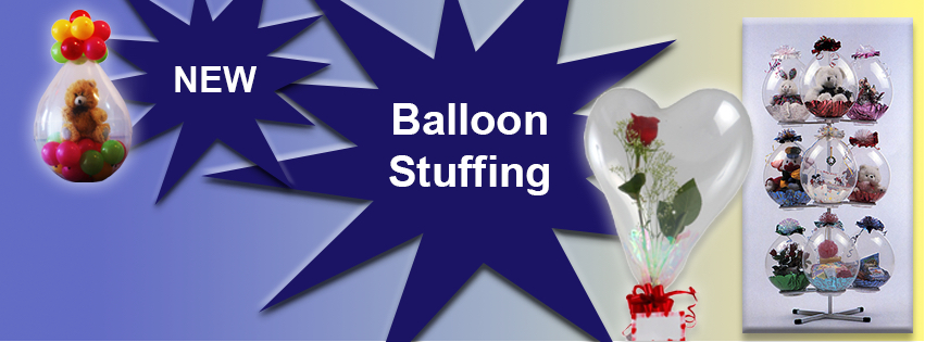 Balloon stuffing gifts from Casa de Flores