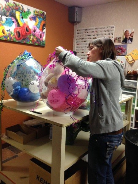 Putting together a stuffed Balloon
