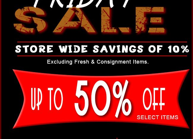 Casa de Flores Black Friday Sale