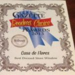 2013 Readers' Choice Award for Best Dressed Store Window