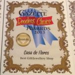 2013 Readers' Choice Award for Best Gift/Jewelry Shop