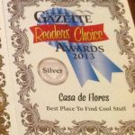 2013 Readers' Choice Award for Best Place to Find Cool Stuff