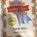 2017 Readers' Choice Award for Best Flower Shop