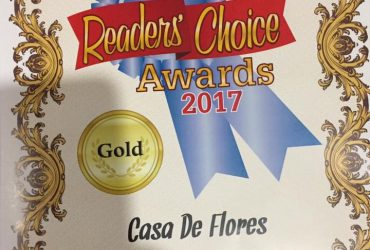 2017 Readers' Choice Award for Best Flower Shop