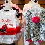 Cute ladybug baby clothing
