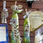 Memorial Figurines at Casa de Flores