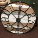 Wooden Large Wall Clock