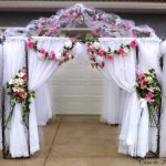 Casa de Flores Wedding Rental Arbor