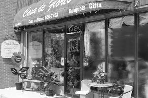 Casa de Flores store front in Olds Alberta