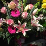 Gerbera Daisies, Stargazer Lilies and Roses make this Valentine's Day arrangement speak volumes.